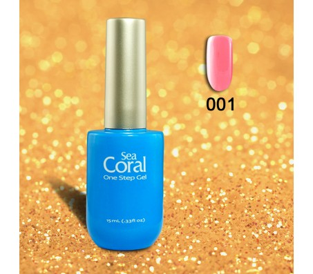 Sea Coral  One Step Gelpolish nr 001