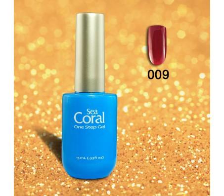 Sea Coral  One Step Gelpolish nr 009