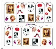 Waterdecal Vintage BOP140