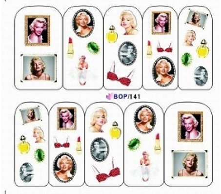 Waterdecal Vintage BOP141