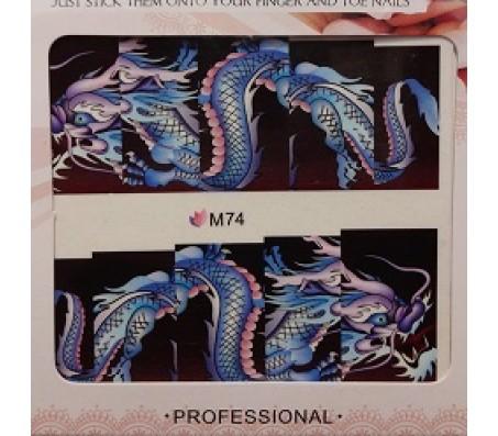 Waterdecal Animal M74