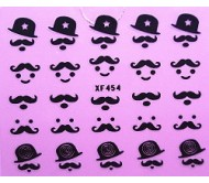 Sticker Moustache XF454