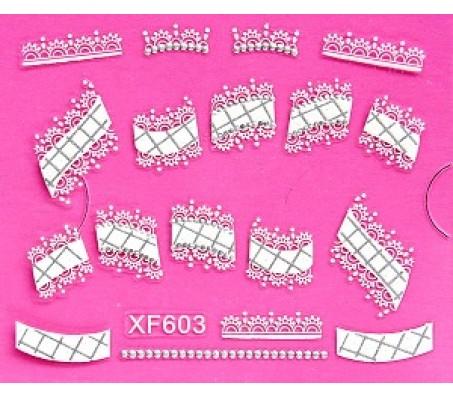 Sticker Wit XF603