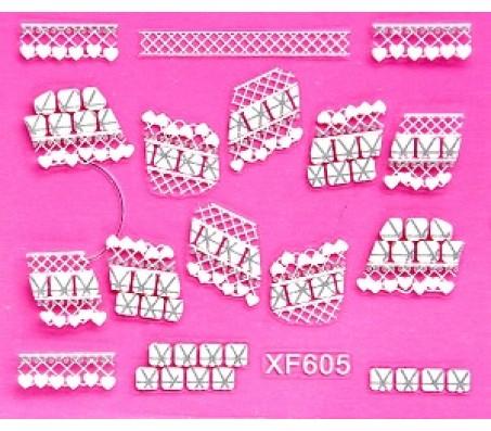 Sticker Wit XF605