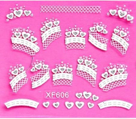 Sticker Wit XF606