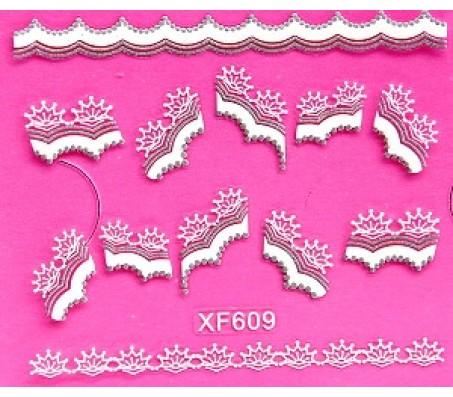 Sticker Wit XF609