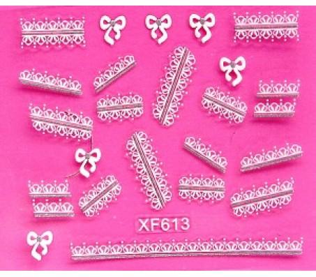 Sticker Wit XF613