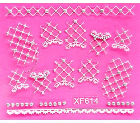 Sticker Wit XF614