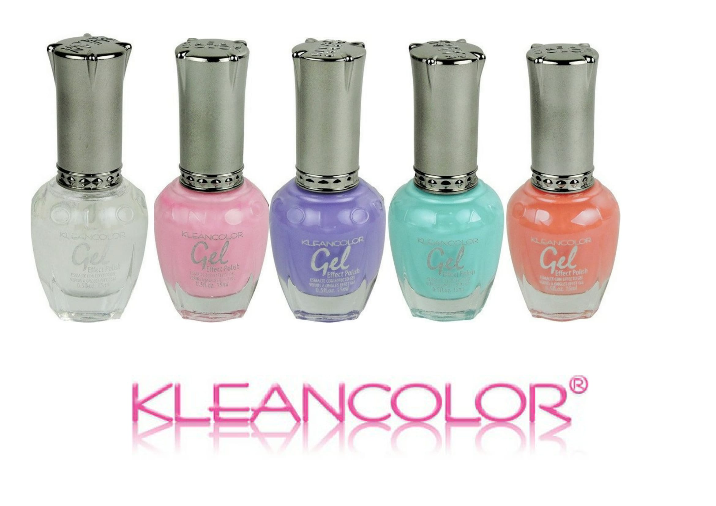 Nagellak Klean Color Gel Effect